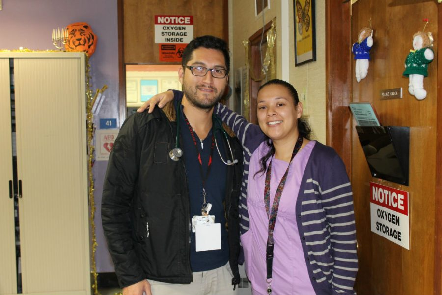 Dr. Paul Gutierrez and Medical Assistant Marina