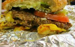Five Guys Cheeseburger. Photo by Jordan Phal.